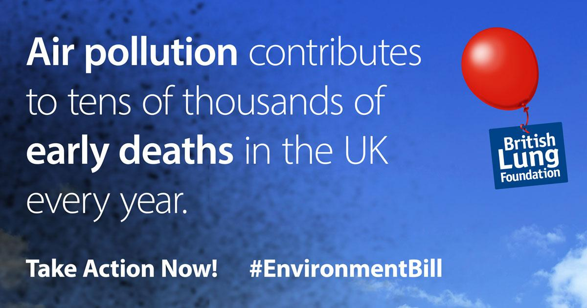 Air pollution contributes to tens of thousands of early deaths in the UK every year