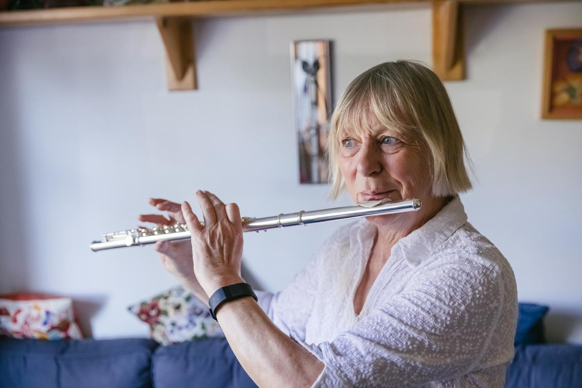 Felicty and her flute