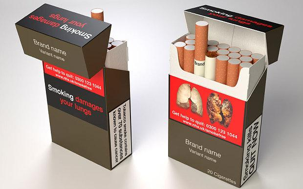 Plain tobacco packaging