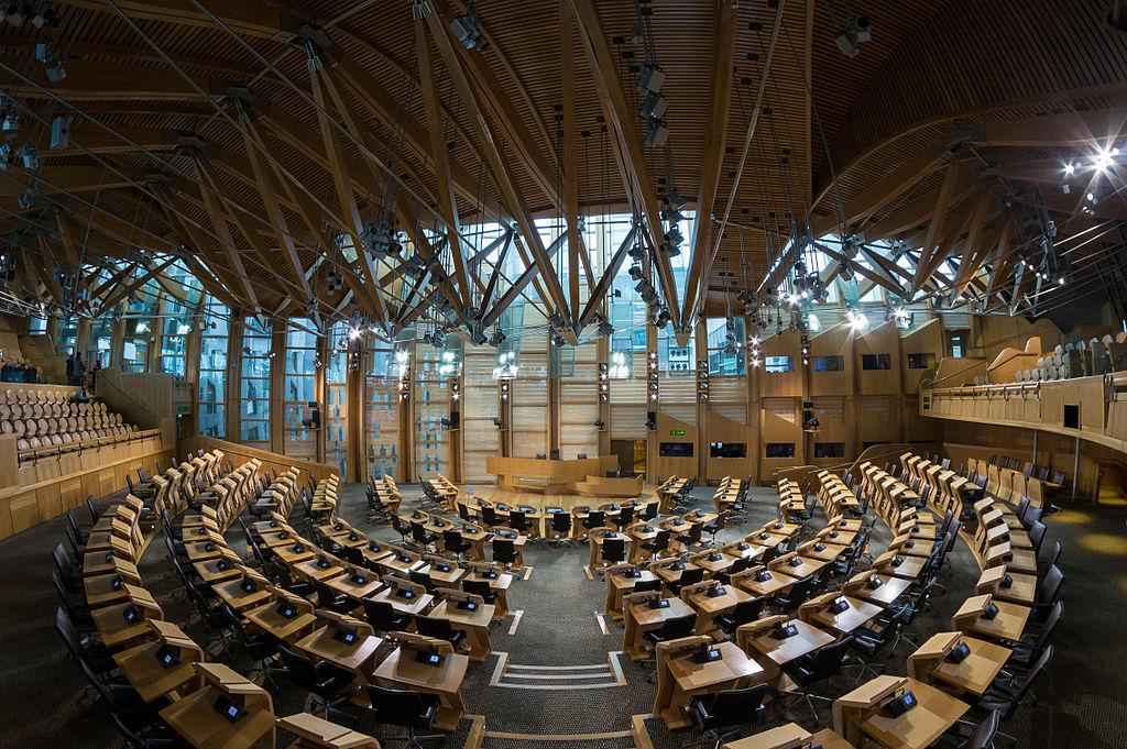 Scottish parliment building