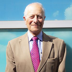 An image of Professor Stephen Spiro, one of of our trustees