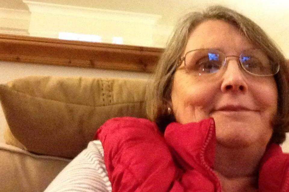 Susan English, who is living with COPD