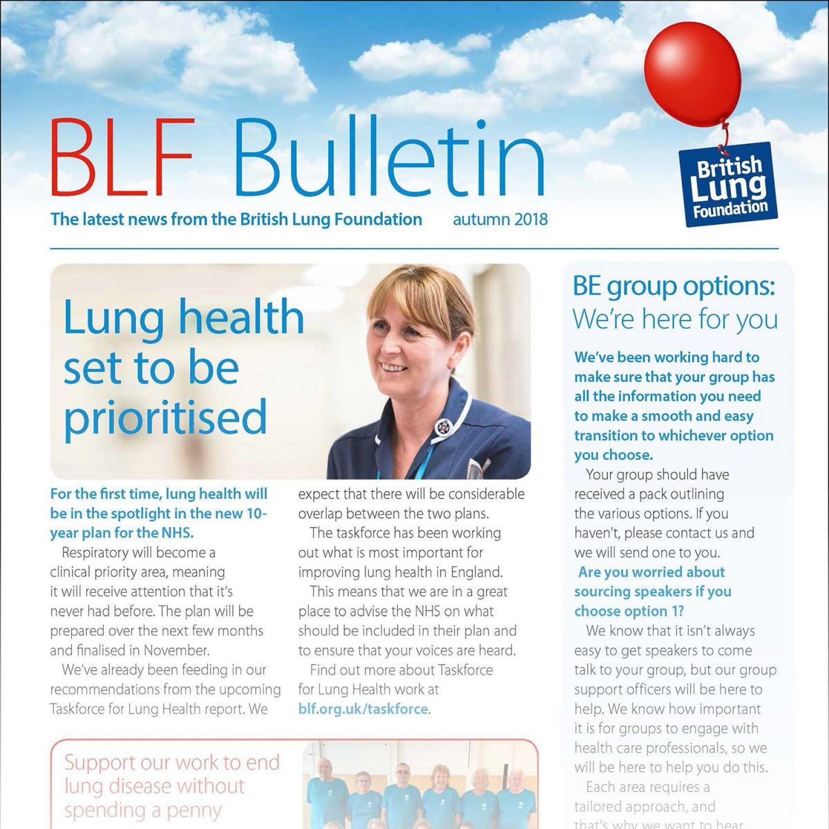 BLF Bulletin Summer 2018 image