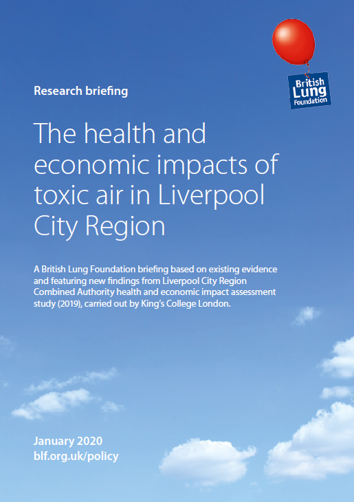 toxic air in Liverpool City Region