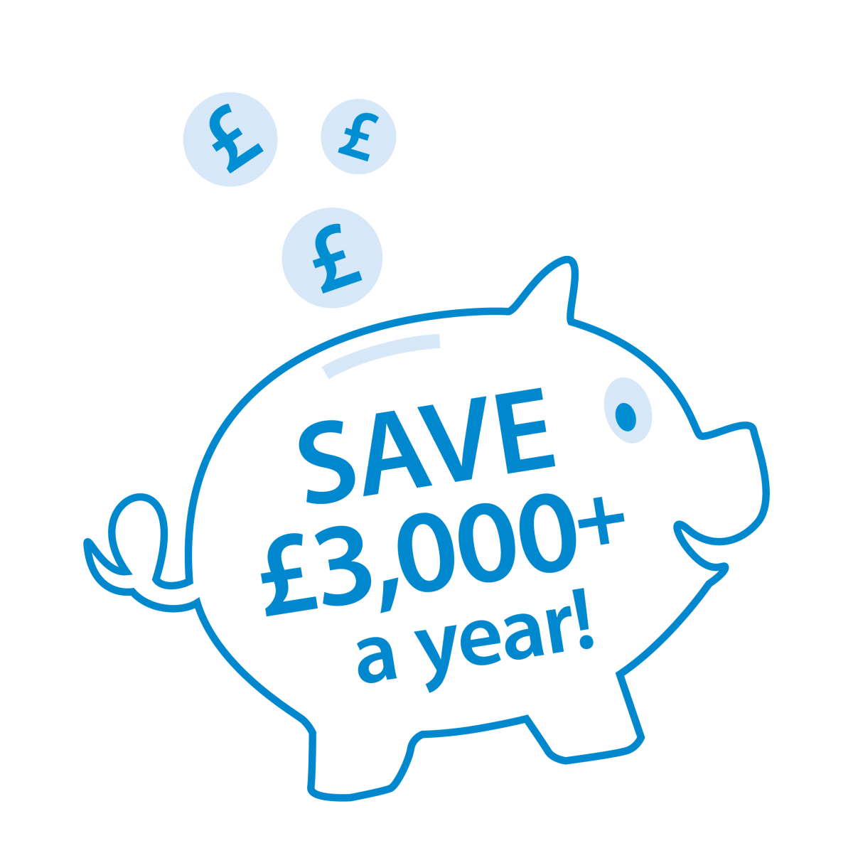 You could save £3000+ a year when you quit smoking