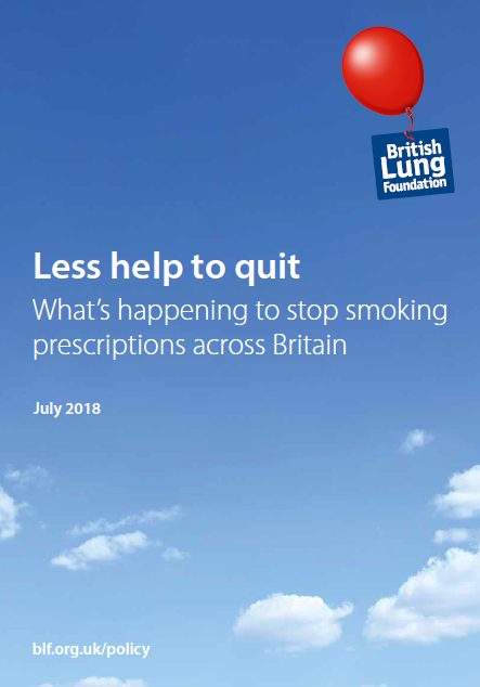 Less help to quit: what's happening to stop smoking prescriptions across Britain July 2018
