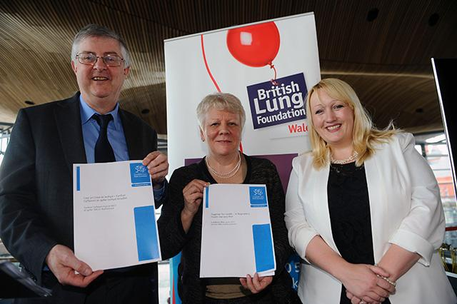 Wales Respiratory Health Plan launch 2014