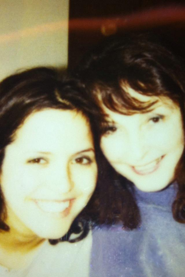 Andrea Corr and mum