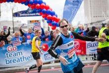BLF london marathon runner