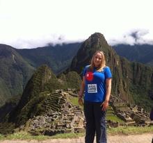 Lisa Barrow Machu Picchu