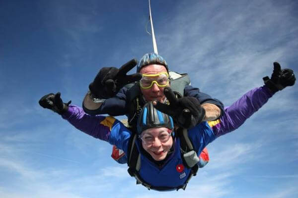Penny Woods skydive
