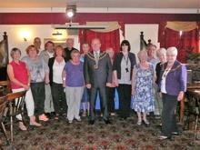 Darlington's Mayor visits Breathe Easy group
