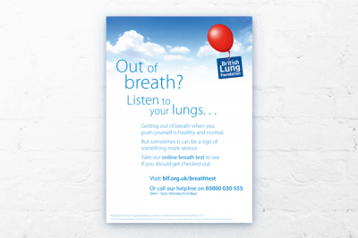 Breath test poster