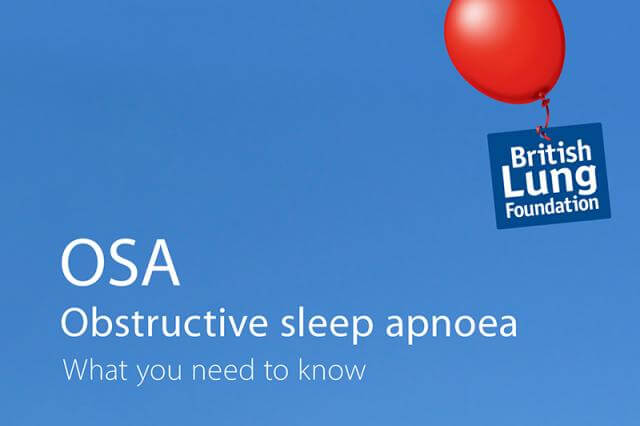 Obstructive sleep apnoea - leaflets, booklets and resources