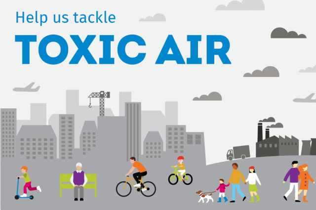 tackling toxic air