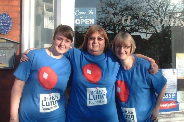 British Lung Foundation supporters