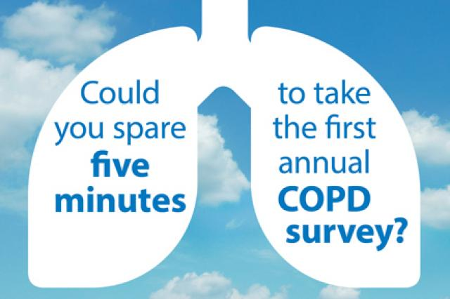 COPD survey homepage