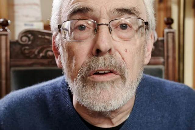 Chris Warburton, living with COPD