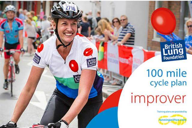 100 mile cycle plan - improver