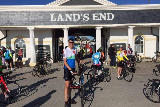 Lands End to John O Groats cycle
