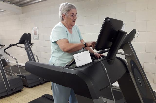 Linda staying active with COPD and British Lung Foundation