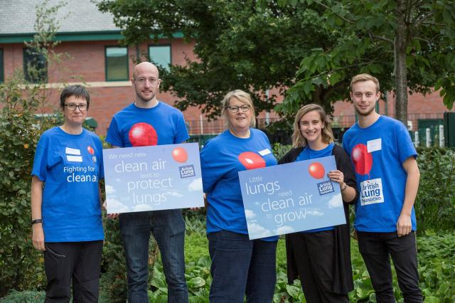 British Lung Foundation - campaigning for the nation's lungs