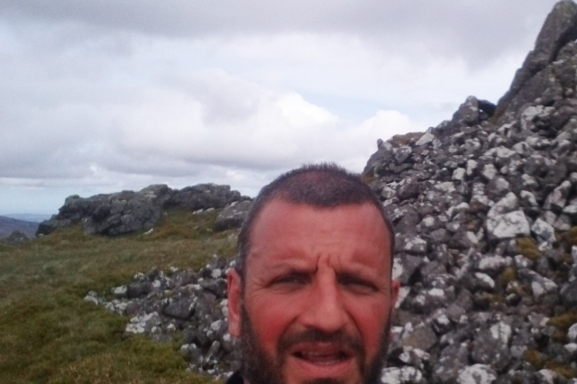Paul on the Pennine Way challenge
