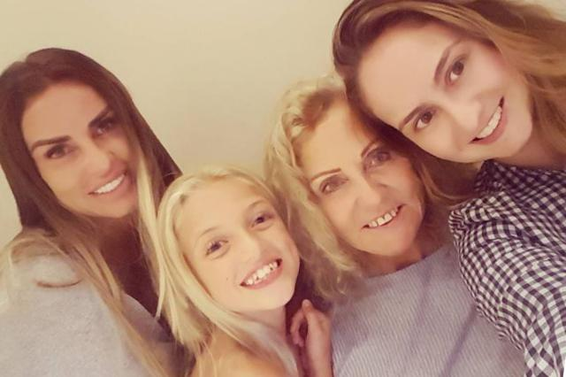 Amy Price and family