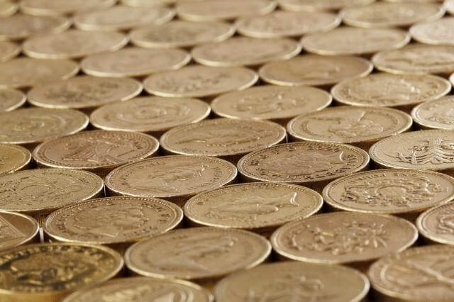 pound coins british money