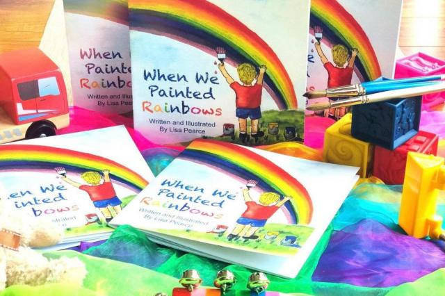 When we painted rainbows